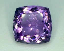 6.36 Crt Natural Amethyst Top Luster Faceted Gemstone (995)