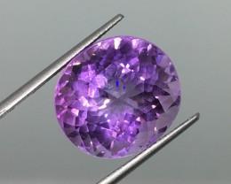 17.57 Carat Certified IF Purple Oval Fancy Amethyst - Fabulous