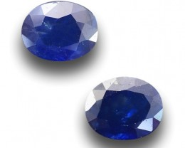 Natural Blue Sapphire pair |Loose Gemstone| Sri Lanka - New