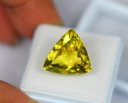 14.50Ct Natural Lemon Quartz Trillion Cut Lot V1434