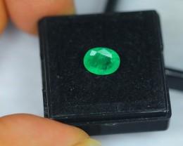 1.82ct Natural Green Emerald Oval Cut Lot GW1457