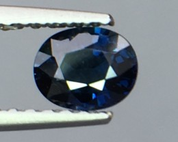 Magnificent Top Color Sparkling Intense Blue Sapphire ~Pk19