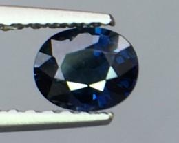 Magnificent Top Color Sparkling Intense Blue Sapphire ~Pk19