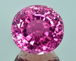 38.58 Cts Wonderful Amazing Color Natural Pink Tourmaline