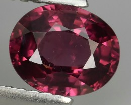 1.40 CTS  EXTREMELY FINE FIRE NATURAL  RHODOLITE  NR☆☆☆