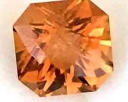 Precision Cut 2.55ct Orangey Yellow Citrine - Brazil F106
