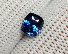 UNHEATED CERTIFIED 1.05 CTS NATURAL BEAUTIFUL GORGEOUS BLUE SAPPHIRE CEYLON