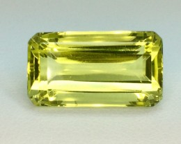 12.06 Crt Natural Lemon Quards Sparkling Luster Faceted Gemstone (996)