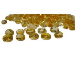 15 Stones - 10.5 ct Citrine 7x5mm Oval - $1 No Reserve Auction