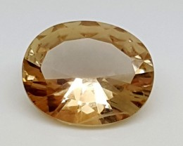 2.20Crt Natural Citrine Fancy Best Grade Gemstones JI 53