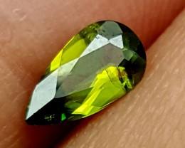 0.50Crt Chrome Sphene Best Grade Gemstones JI 53