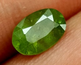 1.30Crt Green Garnet Best Grade Gemstones JI 53