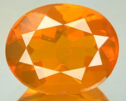 2.50 Cts Natural Orange Fire Opal Mexican Gem