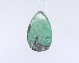 36ct Hot Sale Turquoise Water drop Pendant(18052309)