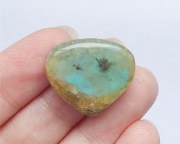 20ct New Design Nugget Blue Opal Cabochon(18052312)