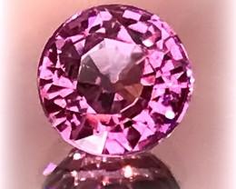 A Strikingly beautiful Pink Tanzanian Garnet - superb cut and color