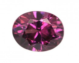 2.52cts Natural Rhodolite Garnet Oval Cut