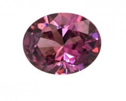 2.04cts Natural Rhodolite Garnet Oval Cut