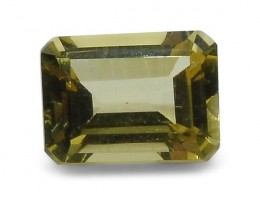 1.4 ct Heliodor 8x6mm Octagon - $1 No Reserve Auction