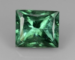 3.05 CTS SPARKLING NATURAL NICE-GREEN TOURMALINE MOZAMBIQUE GEM