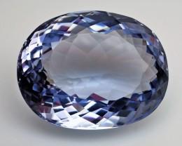 RARE - 102.95 ct. Natural  Blue Maxixe-Type Beryl  – IGE Certificate