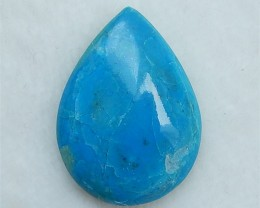 23.6ct Hot Sale Water drop Blue Opal Cabochon(18052407)