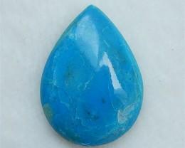23.6ct Hot Sale Water drop Blue Opal Cabochon(18052407)