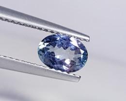 0.82 ct Wonderful Blue Oval Cut Natural Tanzanite