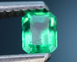 Gil Certified  Columbian Emerald 0.33 ct Glowing Color SKU.6