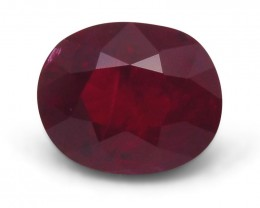 1.51ct GIA Certified Mozambique Ruby