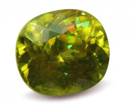 2.94ct GIA Certified Sphene (Titanite)
