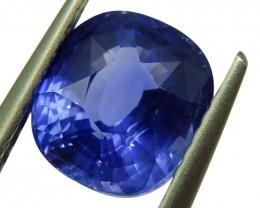 2.52ct GIA Certified Sri Lankan/Ceylonese Unheated Sapphire - $1 No Reserve