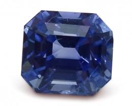 1.71ct GIA Certified Madagascar Unheated Sapphire