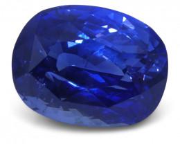 4.11ct GIA Certified Sri Lankan/Ceylonese Unheated Sapphire