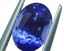 2.44 ct GIA Certified Sri Lankan/Ceylonese Sapphire