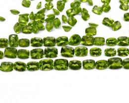 Peridot 101.79 cts 57 stones Wholesale Lot