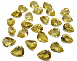 Citrine 183.99 cts 25 stones Wholesale Lot