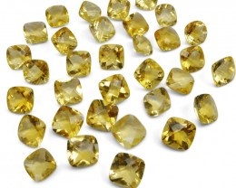 Citrine 196.85 cts 31 stones Wholesale Lot