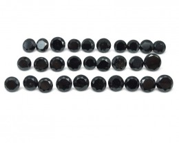 Black Diamond 92.77 cts 24 stones Wholesale Lot