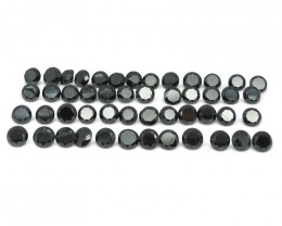 Black Diamond 100.28 cts 43 stones Wholesale Lot