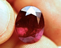 8.08 Carat Fiery Ruby - Gorgeous