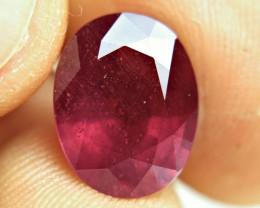 8.08 Carat Fiery Ruby - Gorgeous