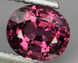 1.05 CTS LOVELY NATURAL SWEET PURPLE PINK COLOR RHODOLITE GARNET PEAR TANZA
