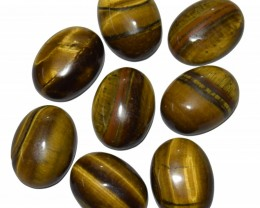 139.40 Ct TIGERS EYE WHOLESALE LOT UNTREATED NATURAL