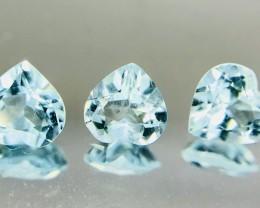 1.20 Crt Calibrated Aquamarine Faceted Gemstone (R 187)