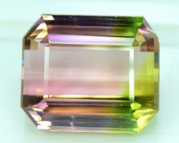 27.85 cts Large Size Bi Color Bubble Tourmaline Gemstone From Africa