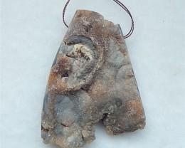178ct New Design Nugget Agate Pendant(18052709)