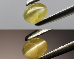 1.09 Ct Unheated Cat's Eye Chrysoberyl - 3 Pieces