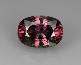 CERTIFIED~6.03 CTS DAZZLING NATURAL RARE TOP LUSTER INTENSE PINK ZIRCON~