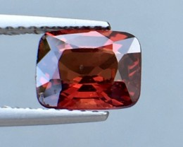 1.46 Cts Untreated Red Spinel Excellent Color ~ Burma Pk20